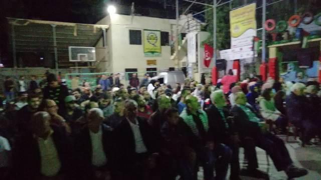 منظمة الشبيبة الفلسطينية  تحيي حفلًا فنّيًّا في البداوي