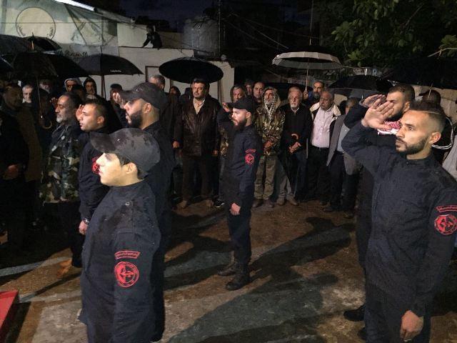 الجبهة الشعبية لتحرير فلسطين تفتتح النصب التذكاري للشهداء  في مخيم البداوي