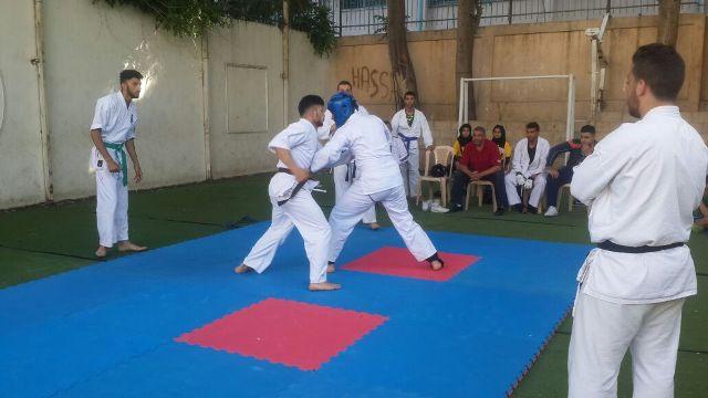 اختتام جولة تدريبية لعدد من الفتوة في نادي القدس الرياضي، منظمة الشبيبة الفلسطينية