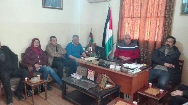 الجبهة الشعبية لتحرير فلسطين في الشمال تلتقي حزب فدا