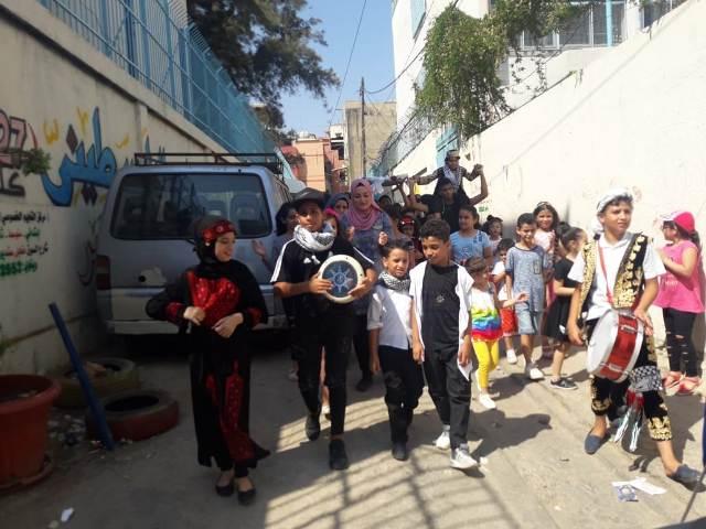 أسبوع ثقافي في مخيم البداوي لأطفال مؤسسة غسان كنفاني