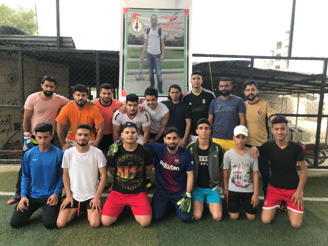 دورة الشهيد محمد عودة لكرة القدم في مخيم البداوي