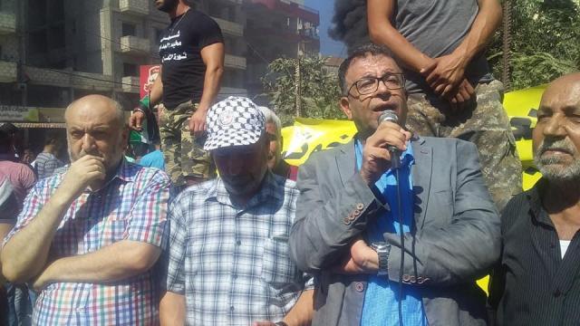في جمعة الغضب في البداوي: عبد العال: الحل بيد الحكومة اللبنانية