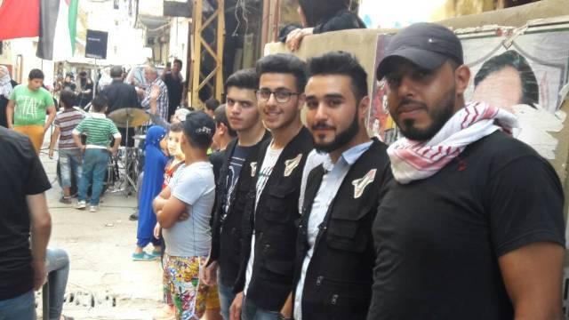 منظمة الشبيبة الفلسطينية تحيي ذكرى النكبة الفلسطينية بيوم فلسطيني مفتوح .