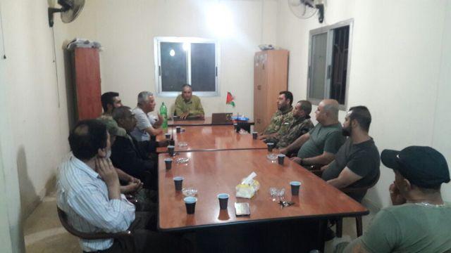 الشعبية في البداوي تستقبل القوة الأمنية
