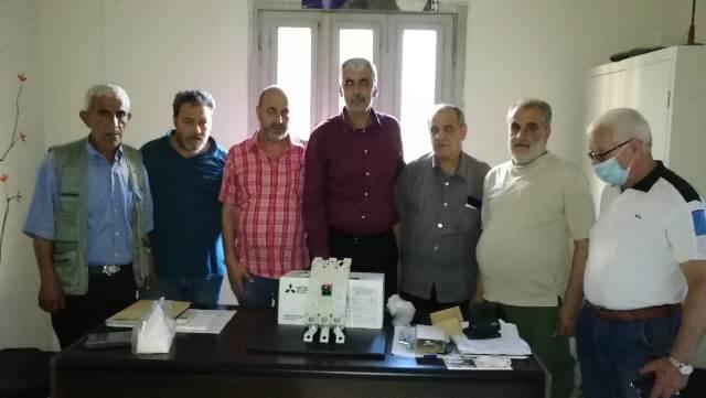 اللجان الشعبية تقدم دجنتير كهربائي لقطاع ج في مخيم البداوي