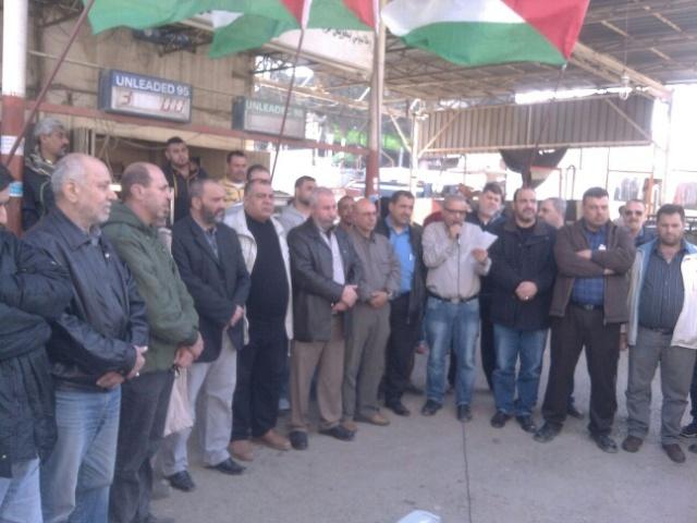 اعتصام في مخيم البداوي، بسبب تقليصات خدمات الأونروا