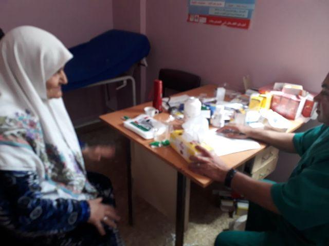 يوم صحي مجاني في مخيمات الشمال