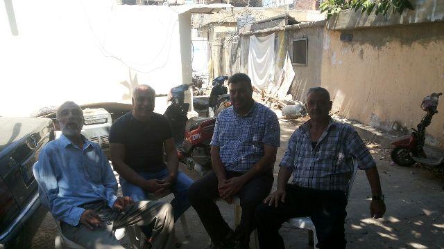عضو اللجنة المركزية للقيادة العامة يزور الشعبية في البداوي