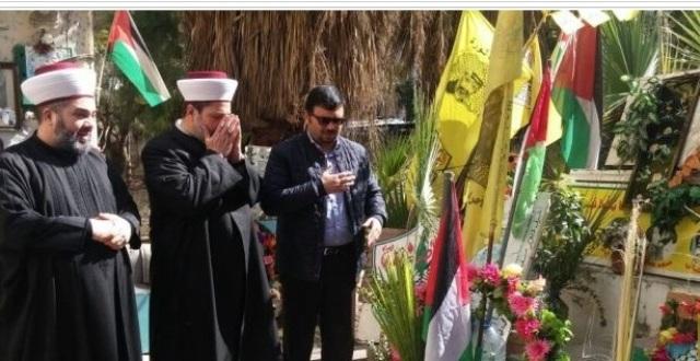 وزير الشؤون البرلمانيةفي الحكومة التونسية يزور مخيم البداوي