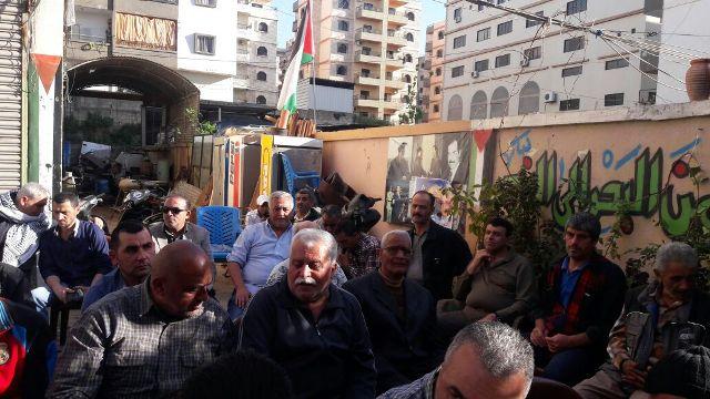 الشعبية في منطقة الشمال  تشارك في مسيرة جبهة التحرير العربية