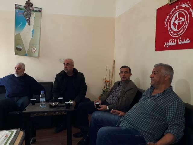 الشعبية في البداوي تستقبل وفدّا من حركة التحرير الوطني الفلسطيني-فتح