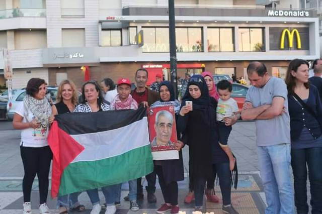 المخيمات الفلسطينية في بيروت تتضامن مع الأسرى
