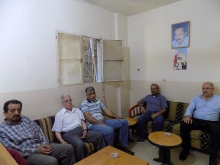 وفد من قيادة بيروت الكبرى في الحزب الشيوعي يزور الشعبية في مكتبها