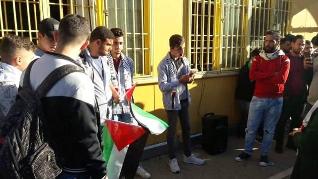 ناشطون يحيون ذكرى وعد بلفور في مدارس الأونروا ببيروت