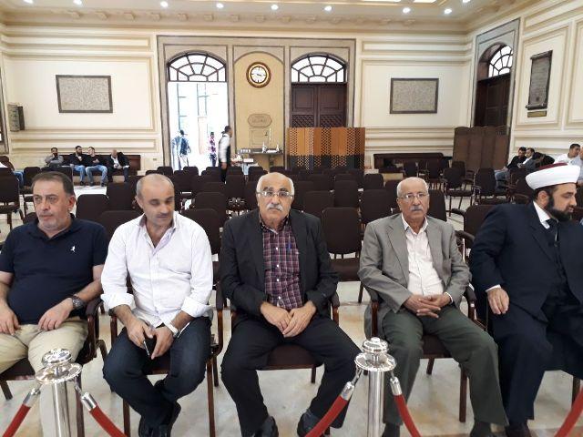 الشعبية في بيروت تعزي النائب السابق وجيه البعريني بوفاة والده