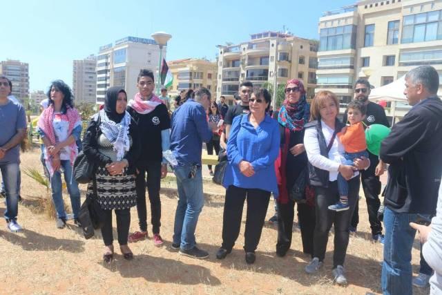 مهرجان لدعم الأسرى في سجون الاحتلال الإسرائيلي في بيروت