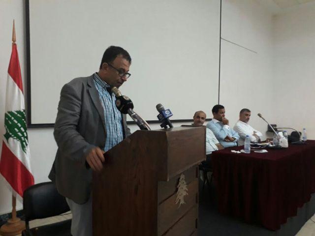 كلمة الأستاذ مروان عبد العال في إطلاق كتاب ( صدى القيد)