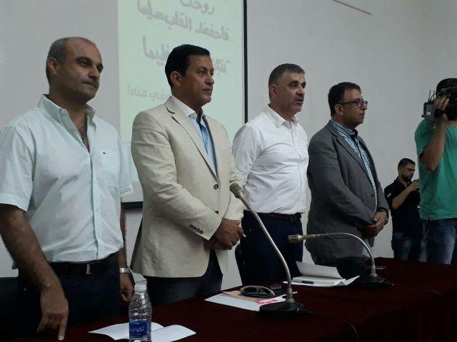 إطلاق( صدى القيد) للأمين العام للجبهة الشعبية لتحرير فلسطين، أحمد سعدات، من بيروت