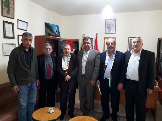 وفد من الحزب السوري يلتقي الجبهة الشعبية لتحرير فلسطين