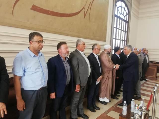 الشعبية تقدم التعازي بوفاة القائد الوطني بسام الشكعة