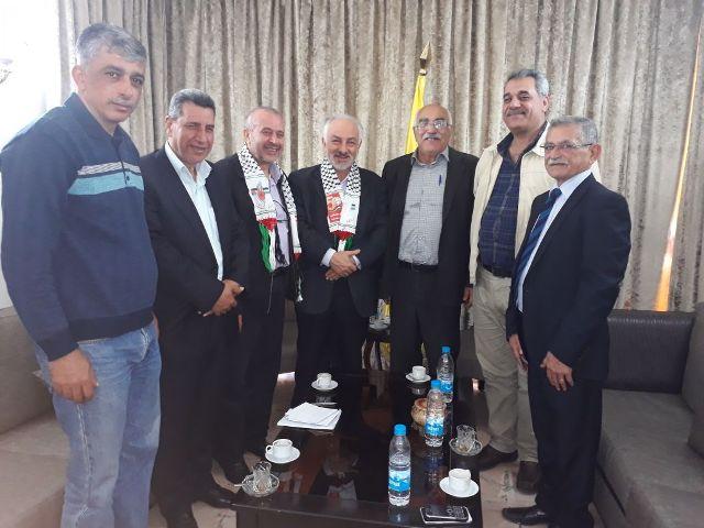 وفد من الجبهة الشعبية لتحرير فلسطين يلتقي حزب الله في الذكرى ال 50 لانطلاقة الجبهة.