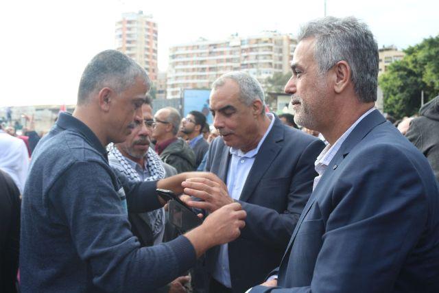 الجبهة الشعبية لتحرير فلسطين ومنظماتها الجماهيرية تشارك بالتظاهرات الجماهيرية في بيروت