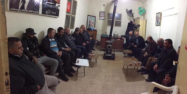 الشعبية في البقاع تتقبل التهاني بنصر غزة