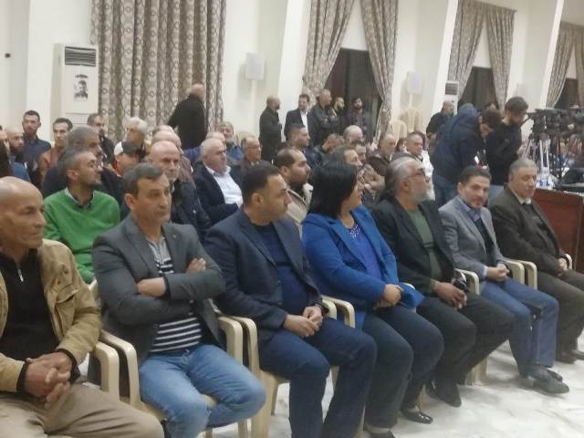 الشعبية تشارك الديمقراطي اللبناني إحياء ذكرى القنطار في بعورته