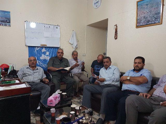الفصائل الفلسطينية في منطقة البقاع تلتقي وفدًا تربويًا في الأونروا