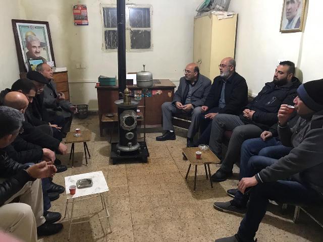 الشعبية في البقاع تحتفي باطلاق سراح الرفيقة خالدة جرار