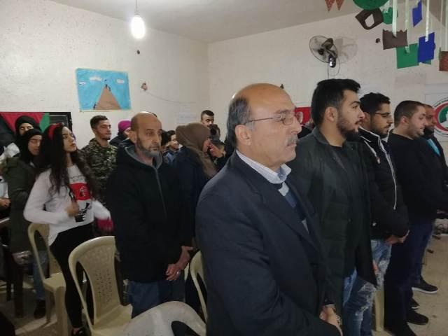 الشعبية في بعلبك تحيي ذكرى انطلاقتها الواحدة والخمسين