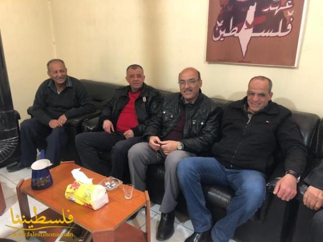 لقاءٌ بين قيادتَي فتح والجبهة الشعبية في البقاع يبحث المستجدات السياسية وأوضاع شعبنا