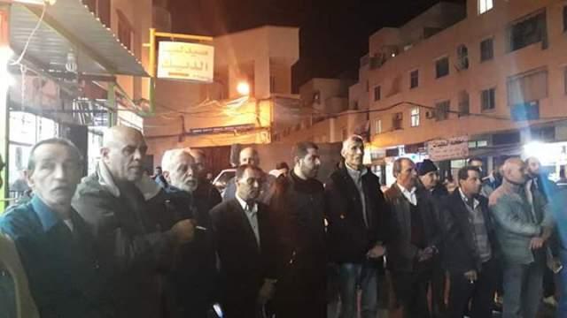 وقفة تضامنية في مخيم نهر البارد انتصارًا لغزة