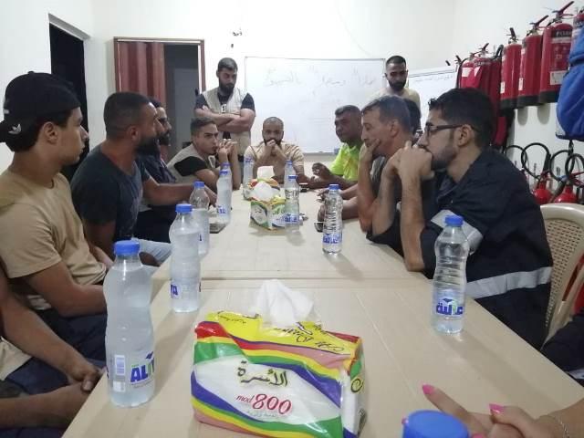 الجبهة الشعبية لتحرير فلسطين في بيروت تكرم الدفاع المدني الفلسطيني