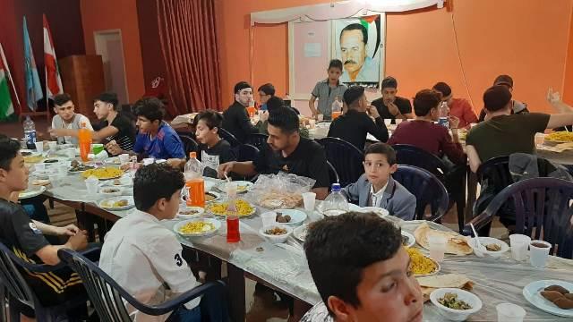 لجان المرأة الشعبية الفلسطينية في  الرشيدية تقيم سهرة رمضانية ونادي الفدائي يقيم إفطارًا رمضانيًّا