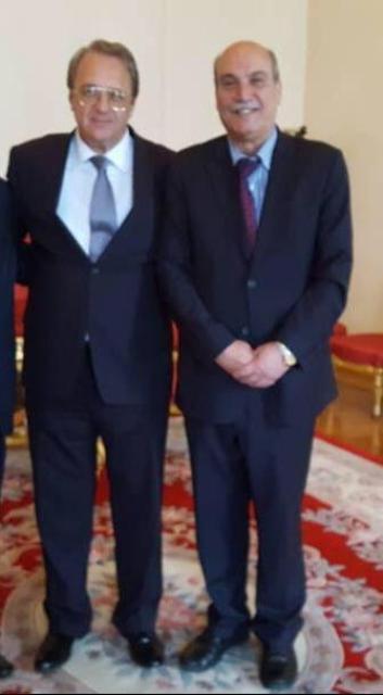 المبعوث الخاص للرئيس بوتين للشرق الأوسط وأفريقيا، ونائب وزير الخارجية الروسي السيد ميخائيل بوغانوف يؤكدان وقوف روسيا الحازم إلى جانب الحقوق الوطنية ال