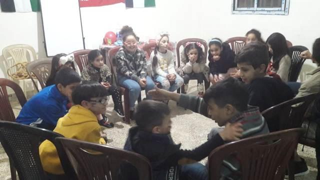 منظمة الشبيبة الفلسطينية في مخيم برج البراجنة تقيم يومًا مفتوحًا لأطفالها