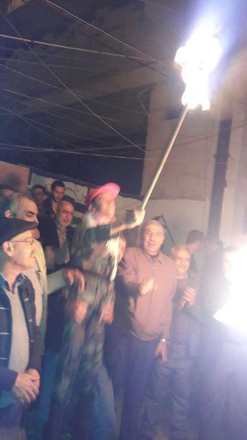 إيقاد شعلة الانطلاقة الـ49 في مخيم برج البراجنة