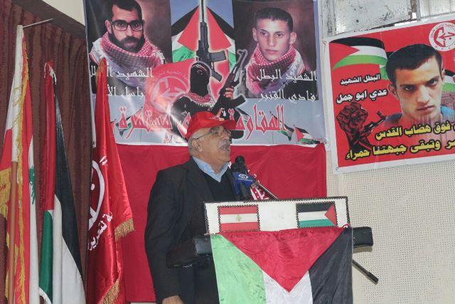 أبو جابر: يجب  تعزيز محور المقاومة ودحر المشروع الصهيو أميركي