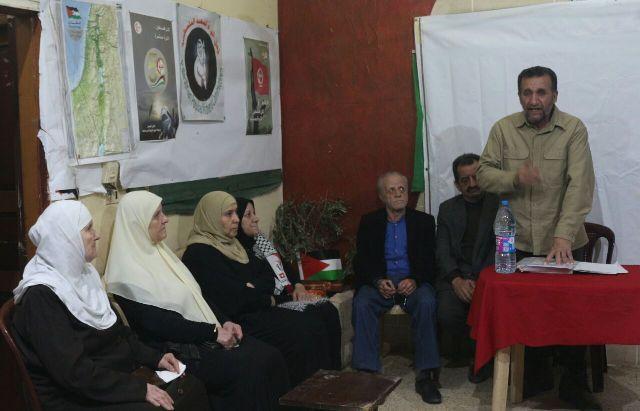 لجان المرأةالشعبية الفلسطيني في مخيم برجالبراجنة تحتفي بيوم المرأة العالمي