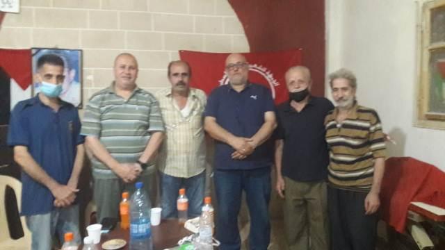 الجبهة الشعبية لتحرير فلسطين تلتقي أنصار الله في مخيم برج البراجنة