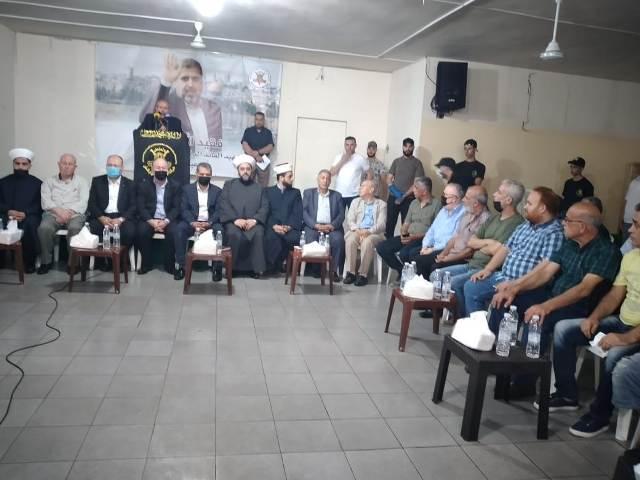 الجبهة الشعبية لتحرير فلسطين تعزي حركة الجهاد الإسلامي برحيل الدكتور رمضان شلّح