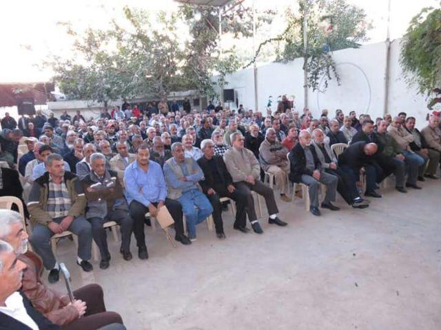 الجبهة الشعبية لتحرير فلسطين تؤبن رفيقها الاستاذ برهان اليماني بمهرجان حاشد