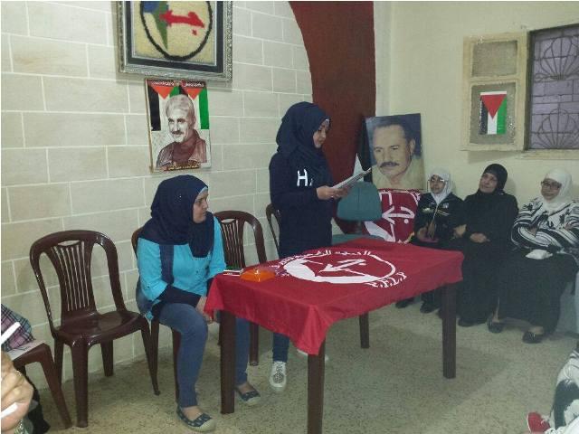 لجان المرأة في مخيم برج البراجنة تقيم لقاء لمناسبة عيد الأم
