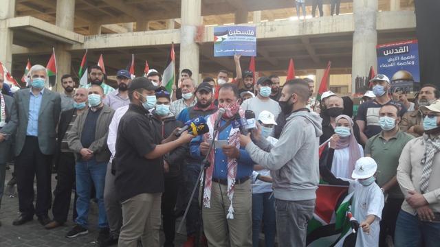 وقفة تضامنية لبنانية فلسطينية مع أهلنا في القدس المحتلة