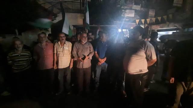 الشعبية تشارك بوقفة الصمود والكرامة مع المقاومة ورفضا للعدوان الصهيوني على لبنان