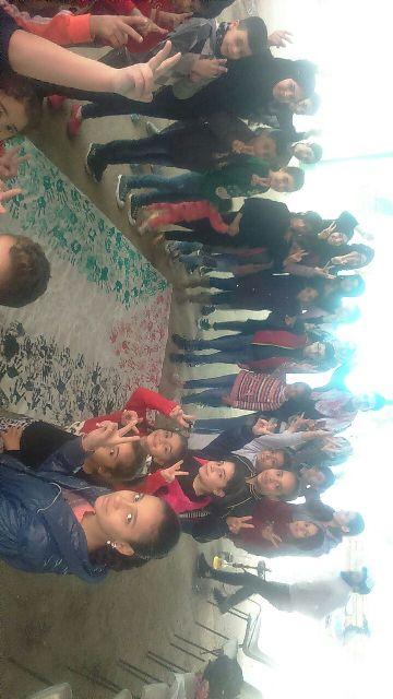 أطفال المخيمات يحيون ذكرى الانطلاقة الخميسن للجبهة الشعبية لتحرير فلسطين