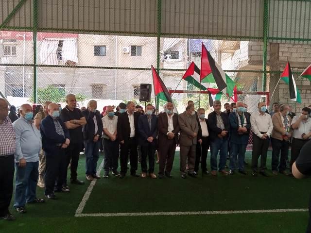 الجبهة الشعبية لتحرير فلسطين تشارك بوفد بالوقفة التضامنية مع القدس في برج البراجنة