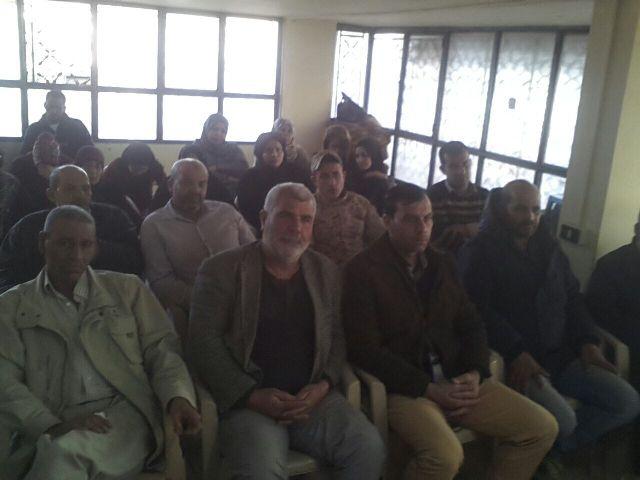 لقاء تضامني مع الشعب الفلسطيني في مخيم البرج الشمالي
